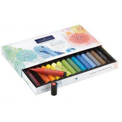 Faber Castell Mix & Match Stampers Big Brush Gift Set