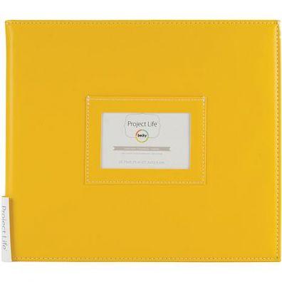 "Project Life Mini Album 10.5""X9.25""-Sunflower"