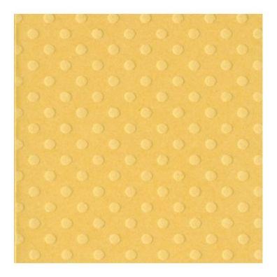 Bazzill Dot Karton - Butter