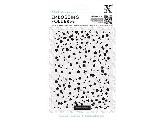 Xcut Embossingfolder Mixed Confetti
