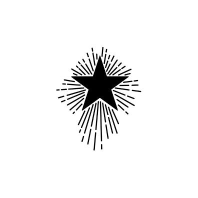 Jenni Bowlin Stencil/ mask 6x6 Shooting Star