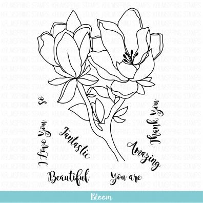 Krumspring Clear Stamp - Bloom