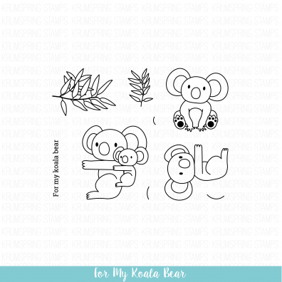 Krumspring Clear Stamp - For my Koala Bear