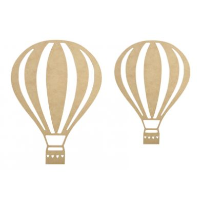 KaiserCraft BTP Wall Art Hot Air Balloons