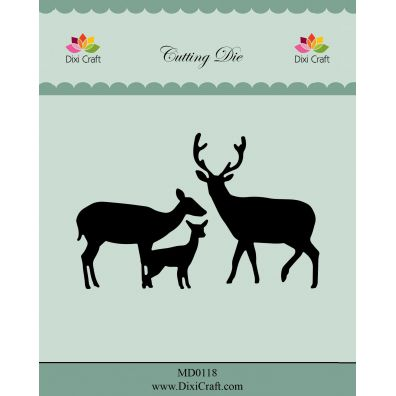 Dixi Craft Die Deer Family