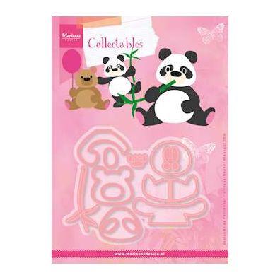 Marianne Design Dies - Eline's Panda & Bear