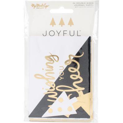 My Minds Eye Joyful 3x4 Journaling Cards