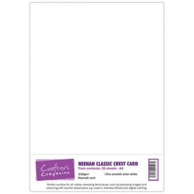 Neenah Classic Crest karton - Ultra Smooth Solar White
