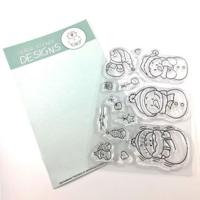 Gerda Steiner Designs Clear Stamps - Snowman Friends