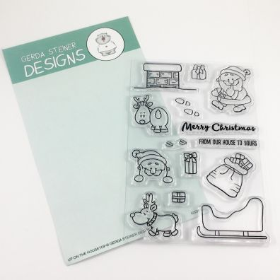 Gerda Steiner Designs Clear Stamps - Up on the Housetop