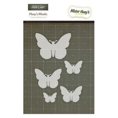"Studio Calico 6x6"" Stickers Butterflies Kraft"