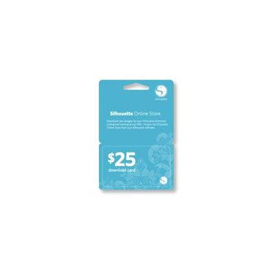 Silhouette 25$ Download Card