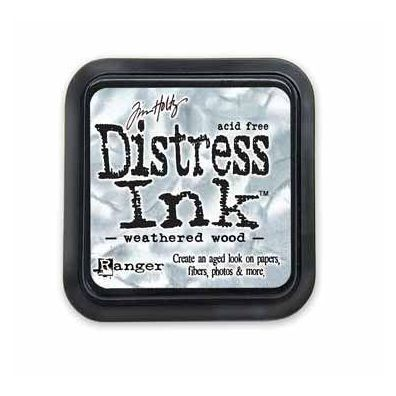 Distress Ink Pad - Weathered Wood