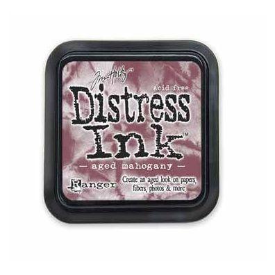 Distress Ink Pad - Aged Mahogany