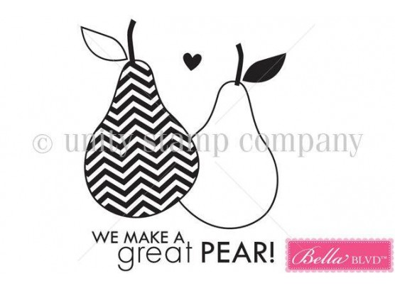 Great Pear - Itty Bitty by Unity Stamp Company