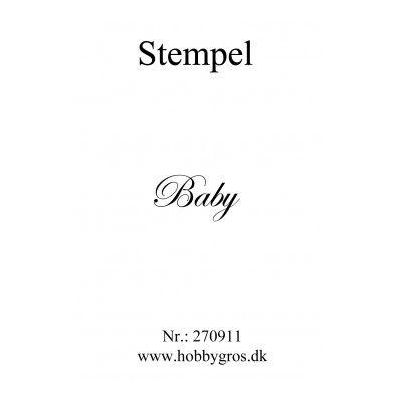 Stempel Baby Clear stamp