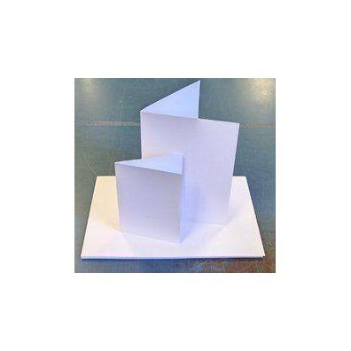 Alm. Hvidt karton 14x28 cm 100 ark