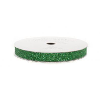 """American Crafts Glittertape Evergreen 3/8"""""""