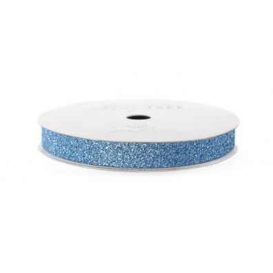"American Crafts Glittertape Sky 3/8"""