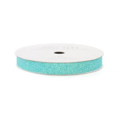 """American Crafts Glittertape Aqua 3/8"""""""