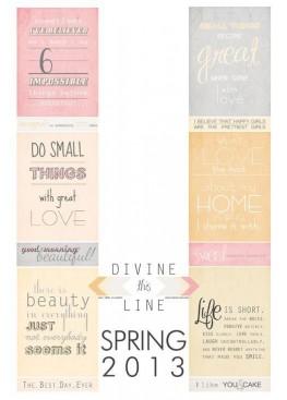 Divine this Line 2*12 sweet ILS - ILoweScrap