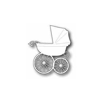 Memory Box Dies Baby Carriage