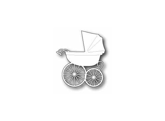 Memory Box Dies Baby Carriage