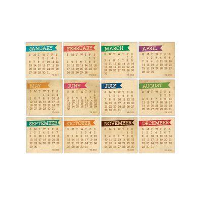 Elle's Studio 2013 Chic Calendars - Vintage