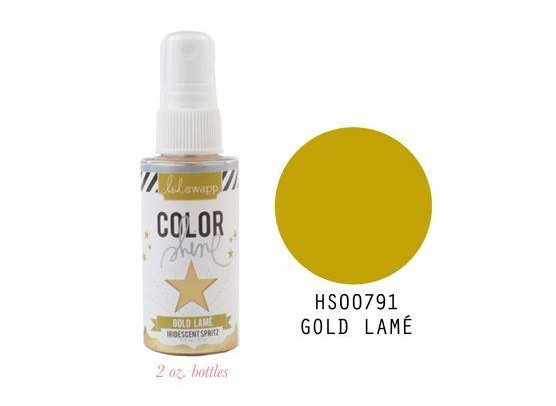 Heidi Swapp Color Shine Gold Lamé