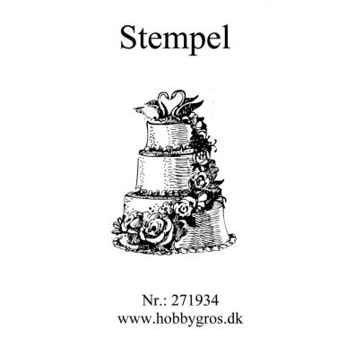 Stempel Bryllupskage Clear stamp