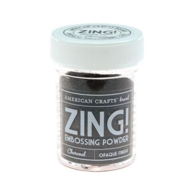 Zing Embossing pulver Charcoal