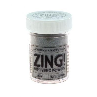 Zing Embossing pulver Metallic Silver