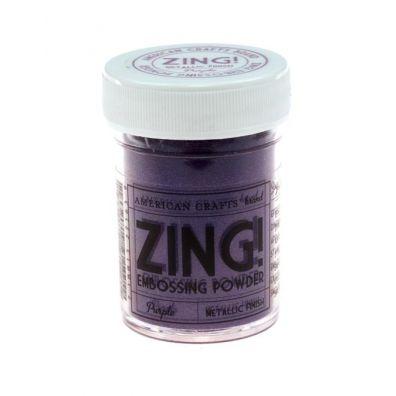 Zing Embossing pulver Metallic Purple
