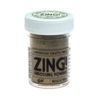 Zing Embossing pulver Metallic Guld