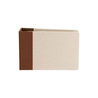 """Modern Scrapbooking Album 6""""x6"""" brun D-ring"""