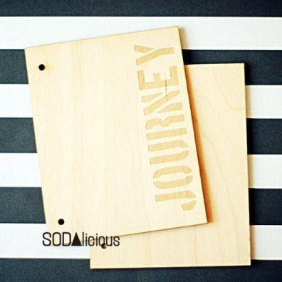 Sodalicious Album 18 x 14 cm - Journey
