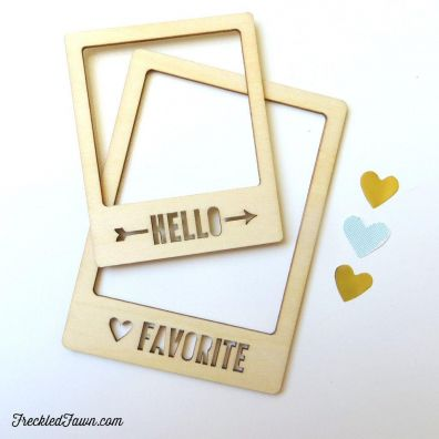 Freckled Fawn Wood Veneer - Favorite Frame