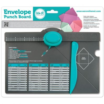 We R Memorykeepers Envelope Punch Board
