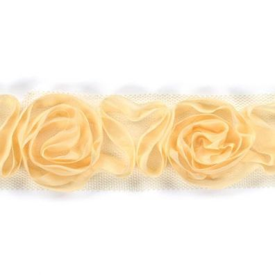 Rose Bånd Lys gul