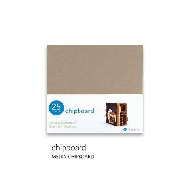 Silhouette Chipboard 12x12