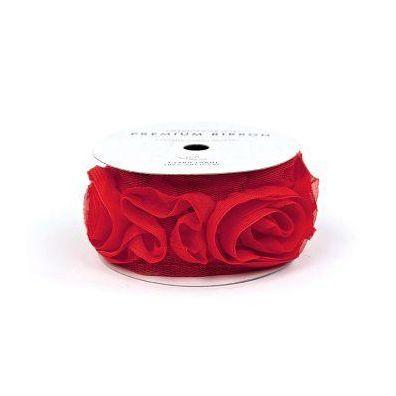 Rose Bånd Rød