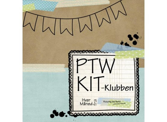 PTW Kit-klub - 12 mdr. med porto