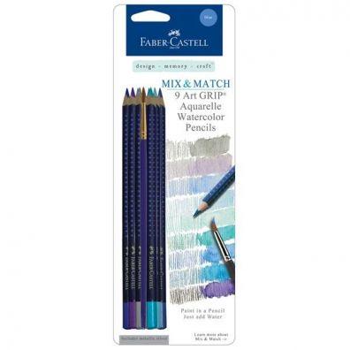 Faber Castell Aquarelles Mix and Match Blue