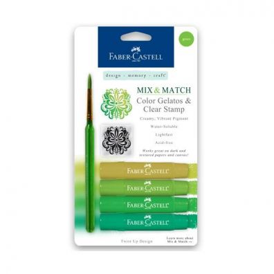 Faber Castell Mix & Match Gelatos Green