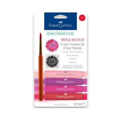 Faber Castell Mix & Match Gelatos Red