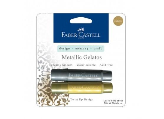 Faber Castell Color Gelatos Metallic Gold & Silver