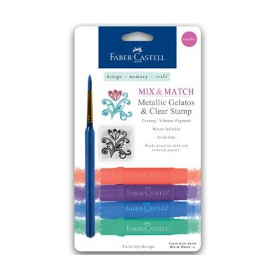 Faber Castell Mix & Match Gelatos Metallic