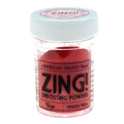 Zing Embossing pulver Rouge