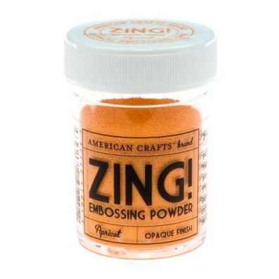 Zing Embossing pulver Apricot