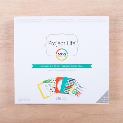 Project Life Core Kit - Aqua